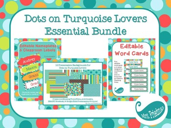 Dots on Turquoise Lovers Essentials Bundle