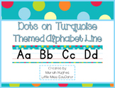 D'Nealian Manuscript/Cursive Alphabet Line Multi-Colored P