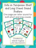 Short and Long Vowel Sound Posters- Multi-Colored Polka Do