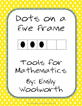 Dots on a 5 Frame (0-5) in Yellow Polka Dots