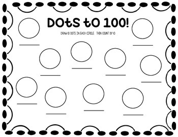 Dots to 100