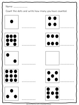 Dots to Digits Making Meaning of Numbers