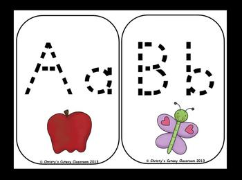 Dotted Alphabet Cards