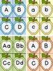 Dotted Apple Alphabet Letter Flashcards 8 Color Bundle