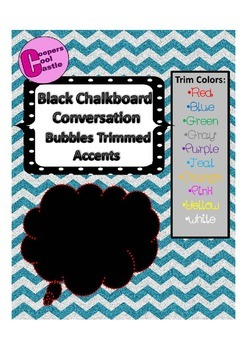 Dotted Chalkboard Bubbles