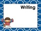 Dotted Circles Daily Learning Targets Bulletin Board Set