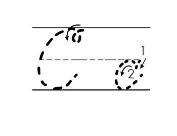 Dotted Cursive Letters Practice