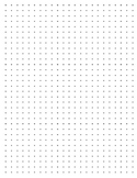 graphic about Dot Grid Paper Printable titled Dot Grid Paper Worksheets Schooling Supplies TpT