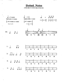 Dotted Note Rhythms