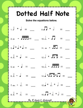 Dotted Notes Bundle
