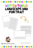 Dotted Thirds Papers: Landscape and Portrait