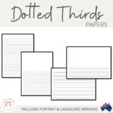 Dotted Thirds Papers: Portrait & Landscape