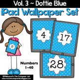 Dottie Blue iPad Wallpaper Set
