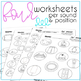 Spanish Speech Therapy Articulation Activities B V and P words