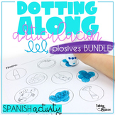 Spanish Articulation Activity for Speech Therapy Bundle B V P T D K G