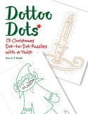 Skip Count by 1, 2, 3, 4, 5, 6, 7, 8, 9, 10, Christmas Dot to Dot Math Bundle