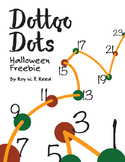 Dot to dot puzzles—Halloween Free sample