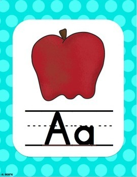 Dotty Alphabet Posters