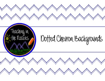Dotty Chevron Backgrounds