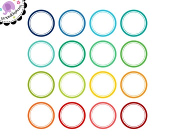 Dotty Circle Digital Frames