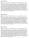 Dotty Decimals - Decimal Multiplication Game
