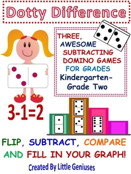 Subtracting and Graphing Game: Dotty Difference With Dominoes