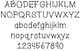 Dotty Font and Skinny Font