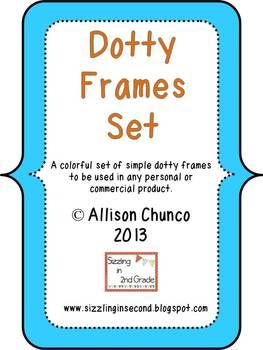 Dotty Frames Set
