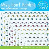 Wavy Heart Borders