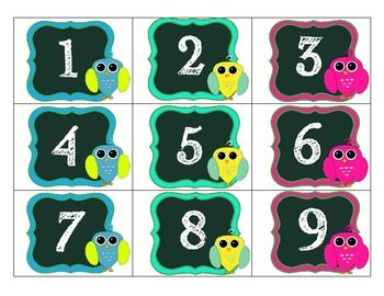 Dotty Owl Calendar Pack
