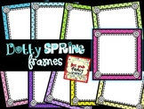 Dotty Spring Frames {for Commercial and/or Personal Use}