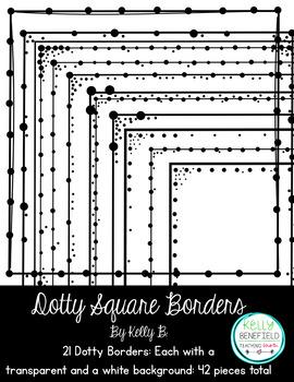 Dotty Square Borders