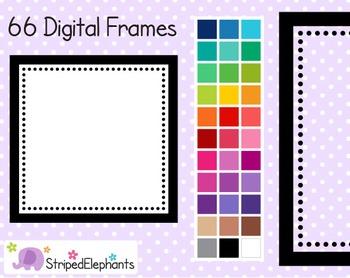 Dotty Square Digital Frames