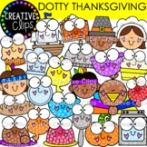 Dotty Thanksgiving Clipart