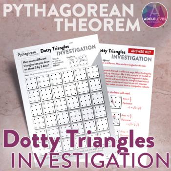Dotty Triangles- Pythagorean Theorem Task