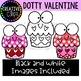 Dotty Valentine {Valentine Clipart}