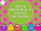 Dotty Work Box and Center Activities