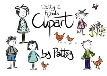 Dotty and Friends Clipart