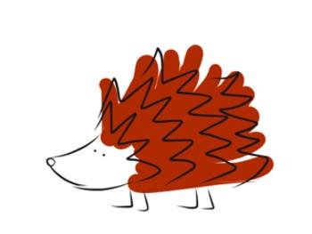 Dotty and friends Clip Art - Hedgehogs