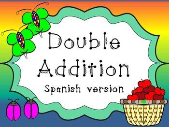 Double Addition Spanish version.     Doble Adición. Matemáticas