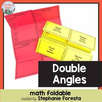 Double Angles Foldable