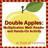 Double Apples! Interactive Multiplication Math Reader and