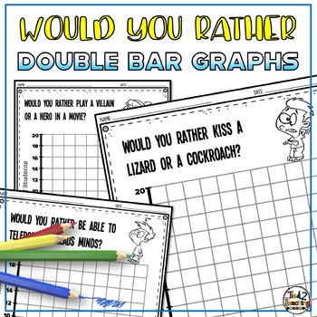 Double Bar Graphs using Would You Rather Questions