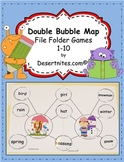 Double Bubble Map File Folder Games 1-10