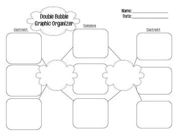 Double Bubble - Venn Diagram Alternative