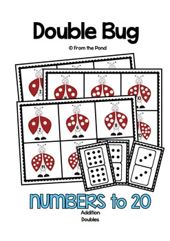 Doubles - Double Bug - Poster & Game/Center Set for Addition