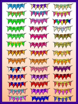 Double Buntings Clipart *Bargain Priced* (Embellish Yourself Artworks)