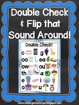 Double Check the Sound -Anchor Chart