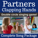 """Double Circle Dance   """"Partners Clapping Hands""""   Complete Song Package"""
