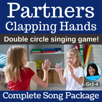 "Double Circle Dance | ""Partners Clapping Hands"" 